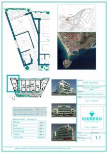Plano viviendas Iceberg Albacerrado Tarifa 01