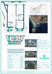 Plano viviendas Iceberg Albacerrado Tarifa 02