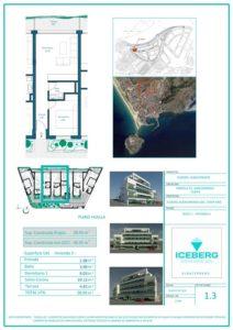 Plano viviendas Iceberg Albacerrado Tarifa 03
