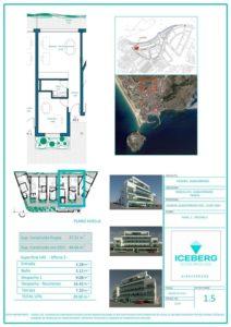 Plano viviendas Iceberg Albacerrado Tarifa 05