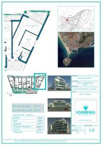 Plano viviendas Iceberg Albacerrado Tarifa 06
