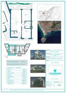 Plano viviendas Iceberg Albacerrado Tarifa 08