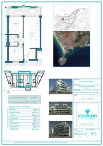 Plano viviendas Iceberg Albacerrado Tarifa 09