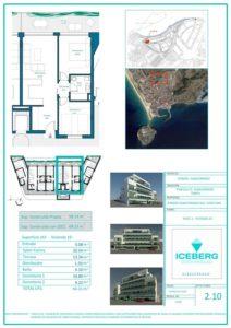 Plano viviendas Iceberg Albacerrado Tarifa 10