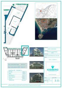 Plano viviendas Iceberg Albacerrado Tarifa 11