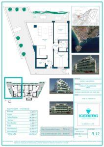 Plano viviendas Iceberg Albacerrado Tarifa 12
