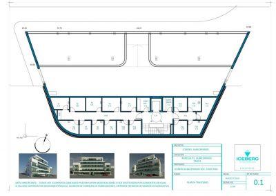 Planos de planta trasteros Edficio Iceberg Albacerrado Tarifa